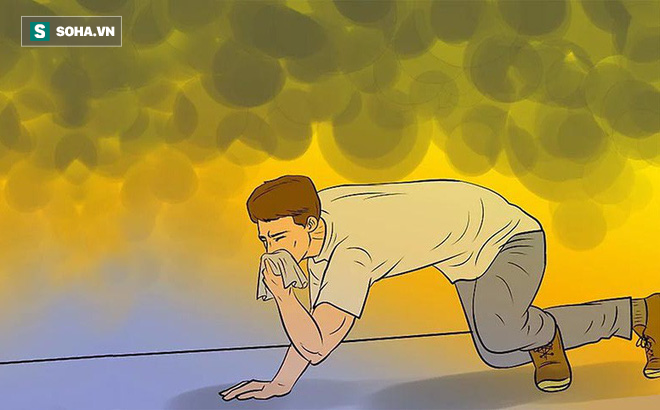 Vì sao chỉ một cái khăn tẩm ướt có thể cứu sống mạng người khi có cháy?