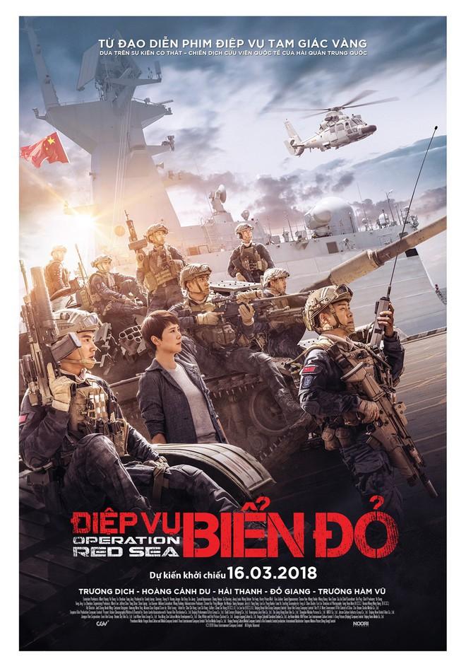Phim Điệp vụ Biển đỏ do Trung Quốc sản xuất đồng loạt bị rút khỏi các rạp Việt Nam - Ảnh 4.