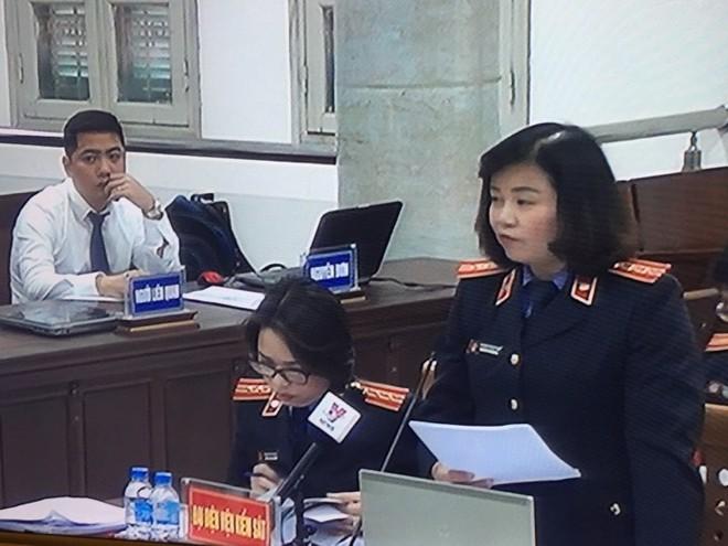 Đại diện VKS: Bị cáo Đinh La Thăng cố ý che giấu sai phạm - Ảnh 4.
