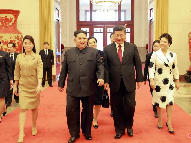 KCNA công bố loạt ảnh mãn nhãn về chuyến thăm Trung Quốc của nhà lãnh đạo Kim Jong-un - Ảnh 5.