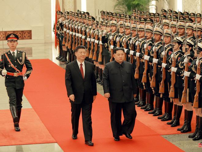 KCNA công bố loạt ảnh mãn nhãn về chuyến thăm Trung Quốc của nhà lãnh đạo Kim Jong-un - Ảnh 2.
