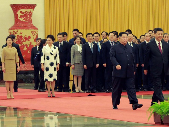 KCNA công bố loạt ảnh mãn nhãn về chuyến thăm Trung Quốc của nhà lãnh đạo Kim Jong-un - Ảnh 3.
