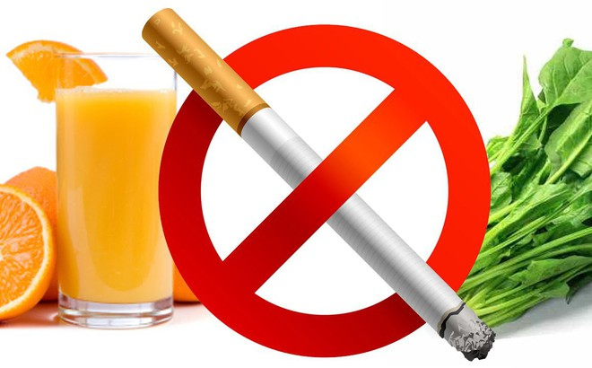 7 thực phẩm giúp loại bỏ chất độc người hút thuốc lá nên ăn nhiều