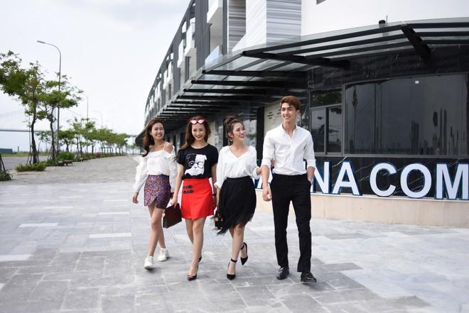 Jun Vũ, Trang Cherry và dàn sao check in địa điểm mới cực hot tại Đà Nẵng - Ảnh 1.
