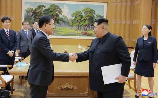 Quan chức Hàn Quốc mang thông điệp mật của ông Kim Jong-un đến Mỹ
