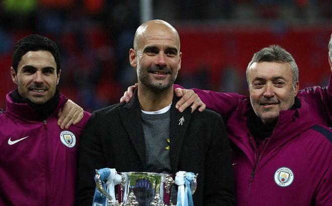 Guardiola: 'Sẽ là giả dối nếu nói Man City chưa tới gần chức vô địch Premier League'