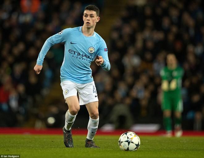 Sao trẻ ghi bàn, Man City ung dung đi tiếp dẫu thua trận - Ảnh 14.