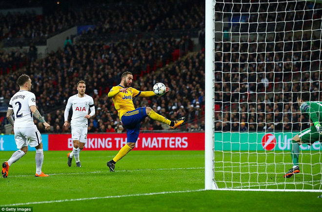 Bộ đôi sát thủ giúp Juventus ngược dòng, giật sập Wembley đoạt vé tứ kết - Ảnh 25.