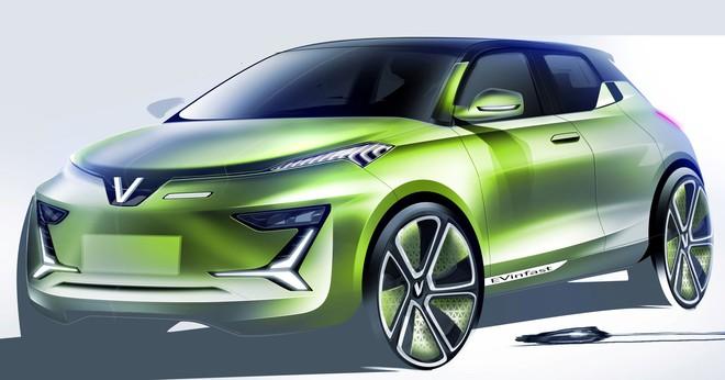 VINFAST công bố 36 mẫu thiết kế cho dòng xe điện và xe động cơ đốt trong - Ảnh 1.