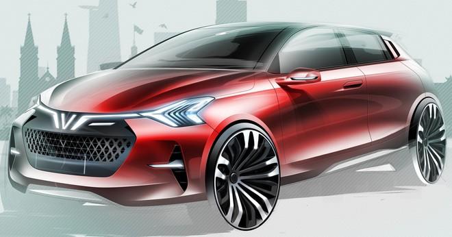 VINFAST công bố 36 mẫu thiết kế cho dòng xe điện và xe động cơ đốt trong - Ảnh 4.