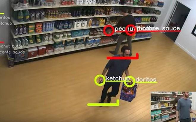 """Bạn không thể """"nhảy đồ"""" trong cửa hàng tạp hóa tự động này được đâu!"""