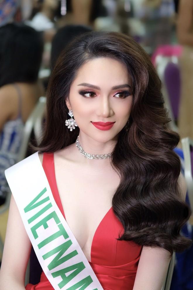 Uống nước cầm hơi, Hương Giang xuất sắc đăng quang Hoa hậu Chuyển giới Quốc tế 2018 4