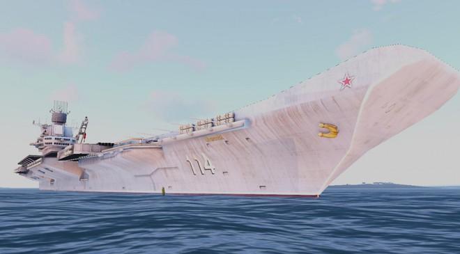 Liên Xô từng chế tạo siêu tàu sân bay hạt nhân mạnh ngang ngửa USS Carl Vinson - Ảnh 1.