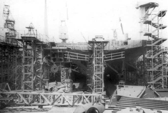 Liên Xô từng chế tạo siêu tàu sân bay hạt nhân mạnh ngang ngửa USS Carl Vinson - Ảnh 3.