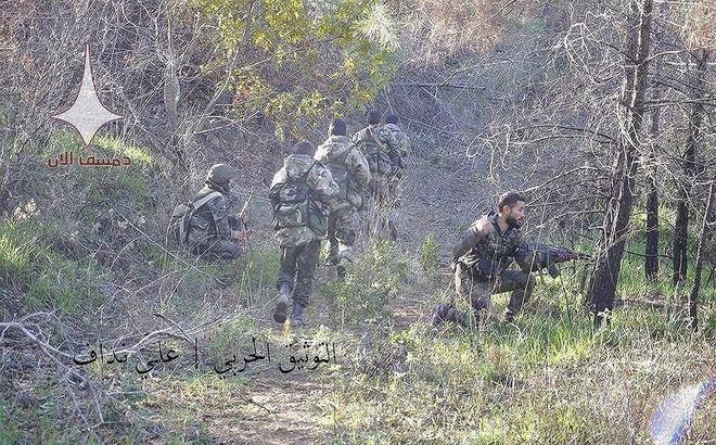 Nga giáng đòn trừng phạt phiến quân tấn công tên lửa vào quân đội Syria