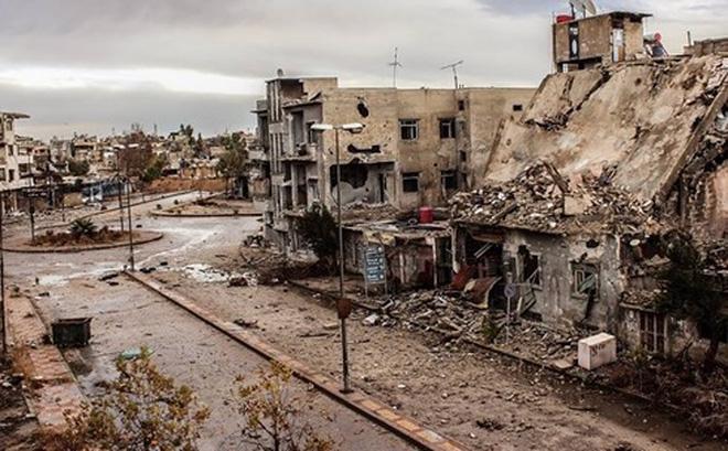 Hành lang nhân đạo thứ 2 ở Đông Ghouta vừa mở đã bị bắn phá