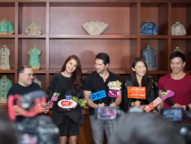 Trương Ngọc Ánh đóng phim cùng dàn sao đình đám quốc tế - Ảnh 3.