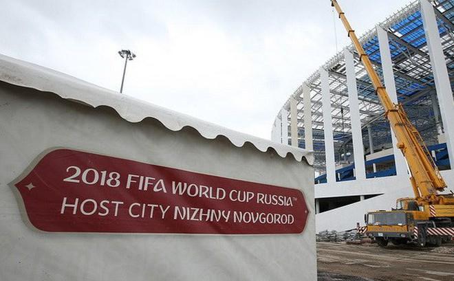 Nga: Phương Tây muốn ngăn chặn việc tổ chức World Cup 2018 tại Nga