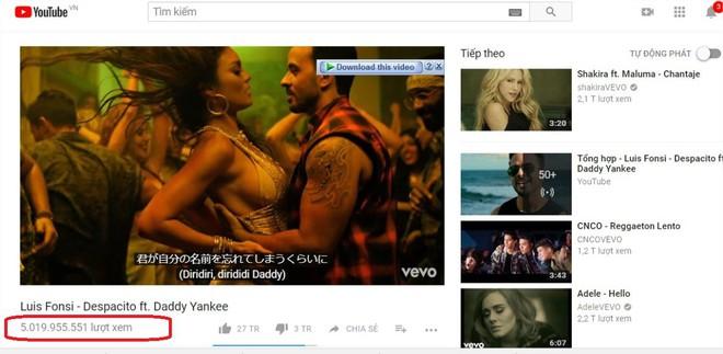 Biến mất sau 1 đêm, MV 5 tỷ lượt xem Despacito được gì, mất gì? - Ảnh 2.