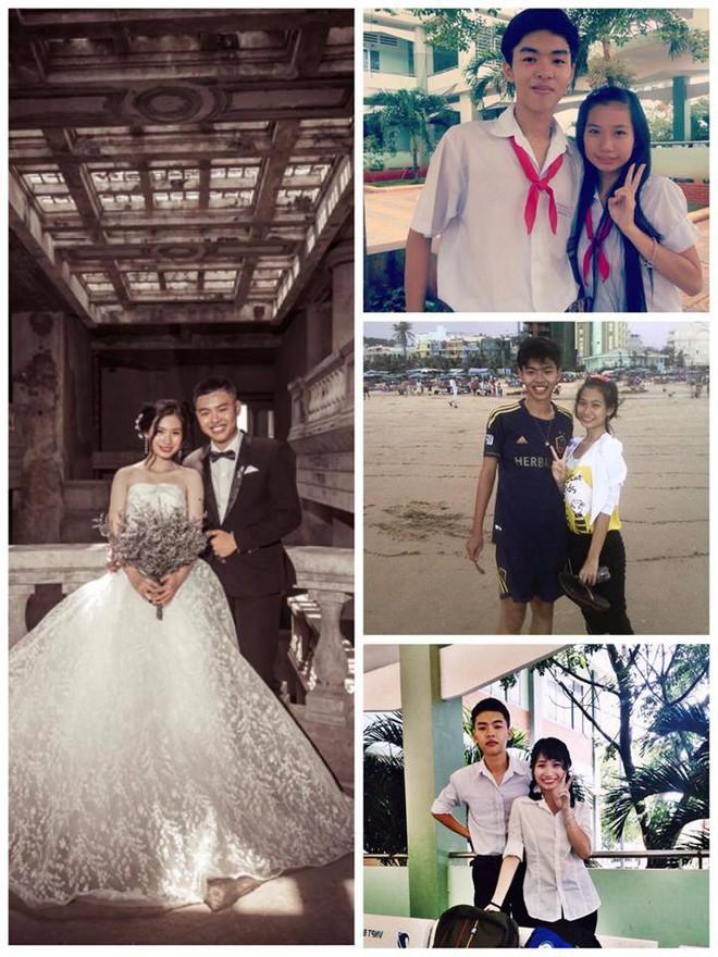 Chuyện tình chàng trai bạn say nắng năm lớp 9 giờ đã là chồng sau 5 năm 2 tháng 16 ngày yêu nhau - Ảnh 1.