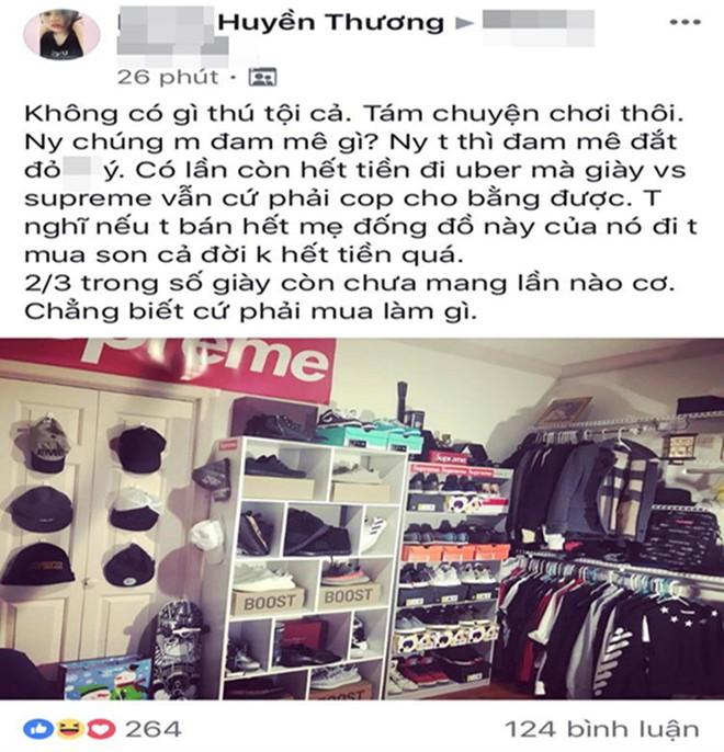 Nhìn bạn trai có bộ sưu tập giày khủng, cô gái ví bán đi mua son dùng cả đời không hết - Ảnh 1.