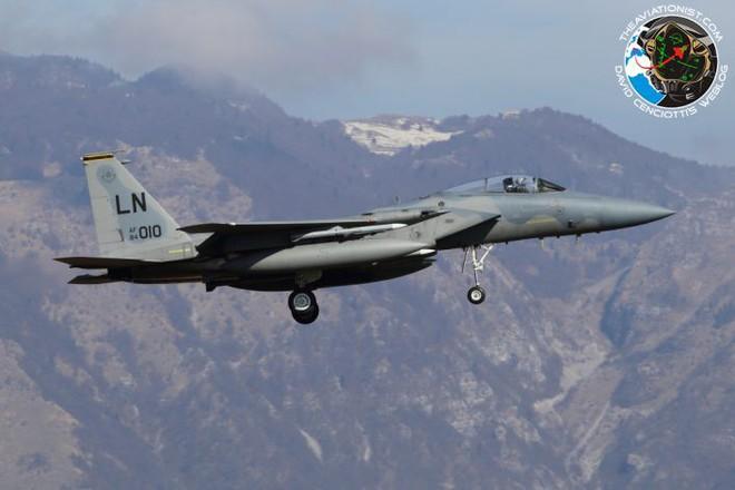Lộ diện chiến đấu cơ Mỹ sẵn sàng nhả đạn nếu máy bay Nga phản kích vụ tấn công Syria - Ảnh 4.
