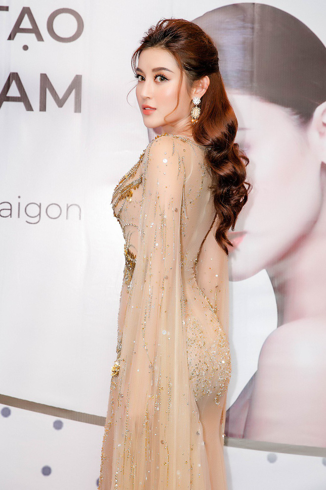 Huyền My đọ sắc với Hoa hậu Thế giới 2013 và Hoa hậu Hoàn vũ Quốc tế 2015 - Ảnh 4.