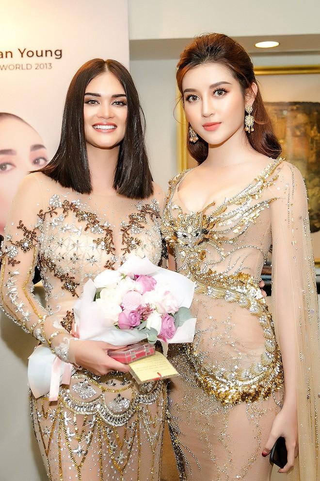 Huyền My đọ sắc với Hoa hậu Thế giới 2013 và Hoa hậu Hoàn vũ Quốc tế 2015 - Ảnh 10.