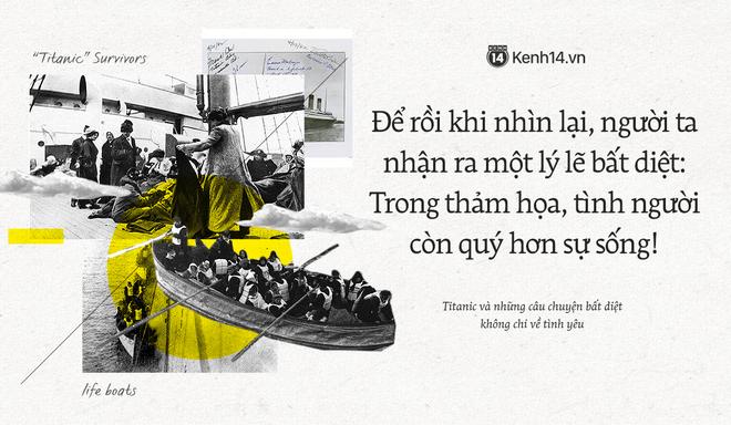 106 năm trôi qua từ ngày tàu Titanic chìm xuống, những câu chuyện về tình yêu và tình người vẫn khiến người người thổn thức - Ảnh 1.