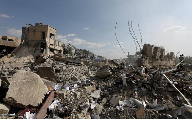 Nhân viên trung tâm nghiên cứu Syria bị Mỹ oanh tạc: Chúng tôi chỉ sản xuất thuốc ung thư, chất giải độc