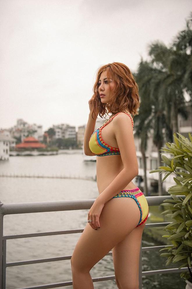 Nóng bỏng mắt với loạt ảnh bikini của Thanh Hương Người phán xử - Ảnh 2.