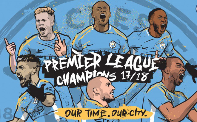 Vô địch sớm 5 vòng đấu, Man City còn mục tiêu gì tại Premier League?