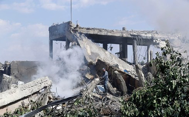 Mỹ tấn công Syria: Một cuộc không kích, hai thông điệp