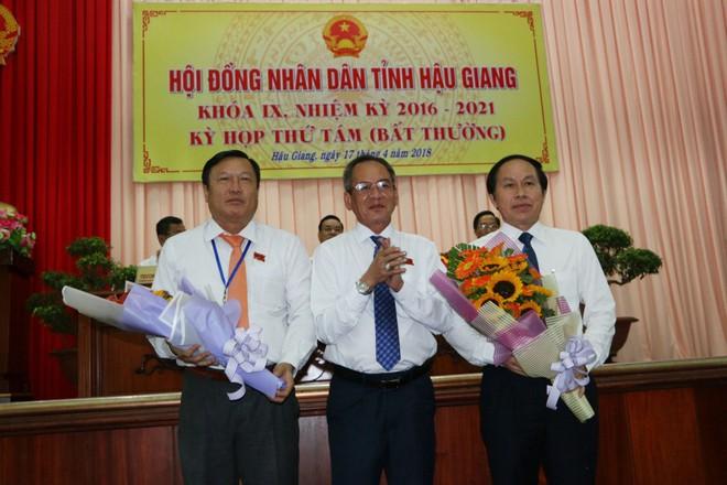 Ông Lê Tiến Châu được bầu làm Chủ tịch UBND tỉnh Hậu Giang - Ảnh 1.