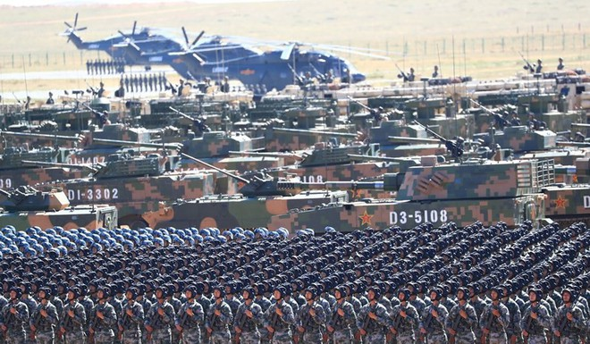 Lính Trung Quốc được lệnh giảm cân, đánh bóng hình ảnh - ảnh 1