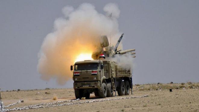 Pantsir-S1 Nga bàn giao cho Syria có tham gia đánh chặn tên lửa Mỹ - Ảnh 1.