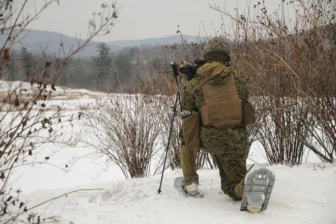 Ảnh: Thủy quân lục chiến Mỹ huấn luyện sử dụng thành thạo súng đạn - ảnh 2