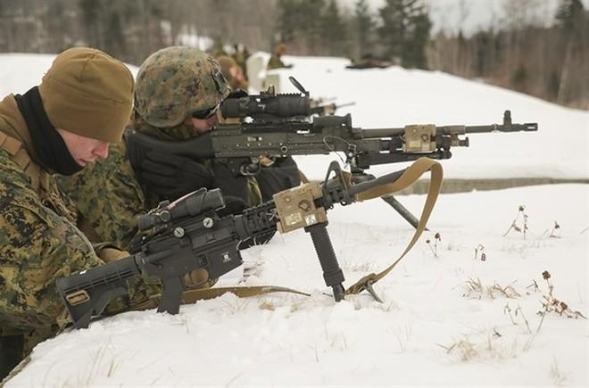 Ảnh: Thủy quân lục chiến Mỹ huấn luyện sử dụng thành thạo súng đạn - ảnh 3