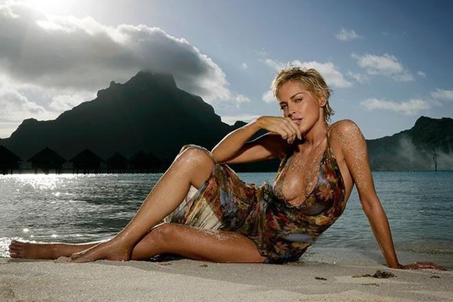 Nhan sắc thanh xuân rực lửa của mỹ nhân Bản năng gốc Sharon Stone - Ảnh 12.