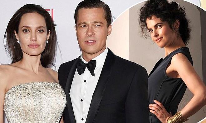 Bạn gái tin đồn của Brad Pitt lần đầu lộ diện, giống hệt Angelina - ảnh 5