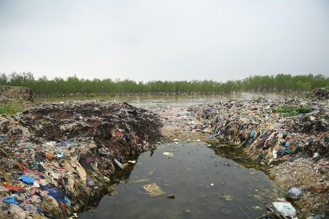 Về Đa Lộc xem núi rác treo lơ lửng trên rừng phòng hộ  - Ảnh 12.