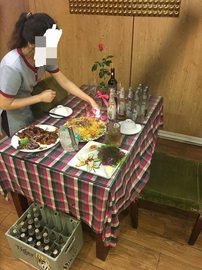 Cô gái bị bỏ bom ở nhà hàng và hành động hiếm có của quản lý cùng nhân viên - Ảnh 2.