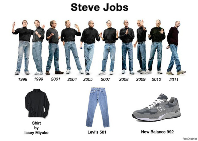 Steve Jobs từng muốn nhân viên Apple mặc đồng phục, đây là lý do vì sao