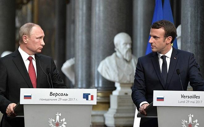 """Tuyên bố ngang hàng với Nga, Pháp muốn thế chân Mỹ """"làm chủ cuộc chơi"""" tại Trung Đông?"""