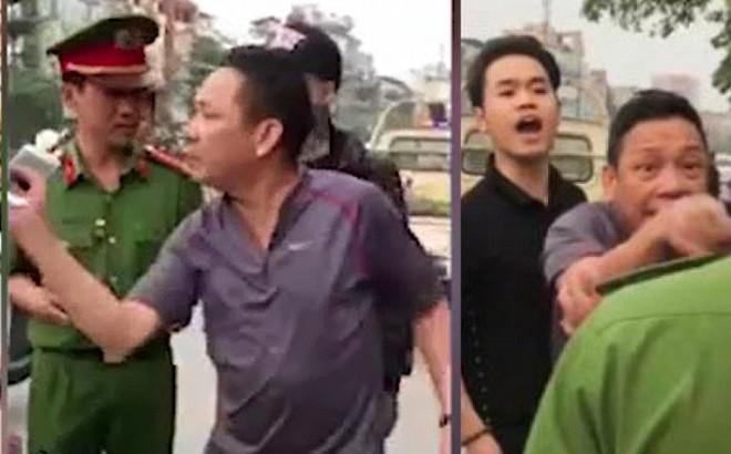 2 cha con chỉ tay vào mặt công an lăng mạ, thách thức đánh nhau: Công an phường lên tiếng