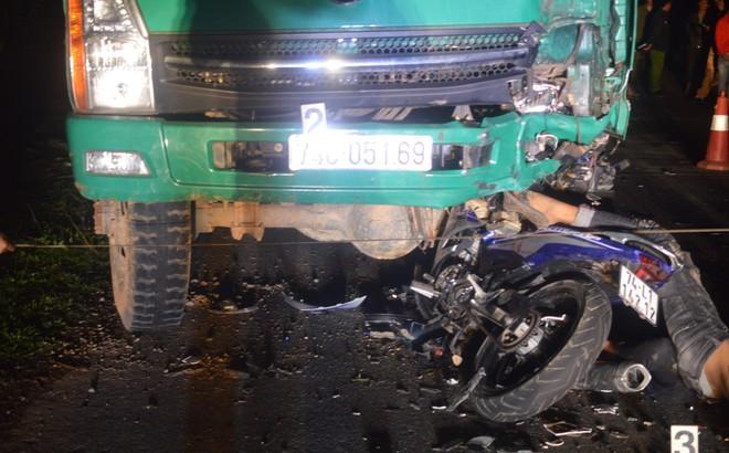 Cận cảnh hiện trường vụ tai nạn khiến 4 học sinh tử vong thương tâm