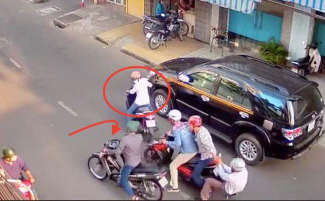Bắt nhóm đối tượng đi cướp lấy tiền độ xe đi bão đêm ở Sài Gòn