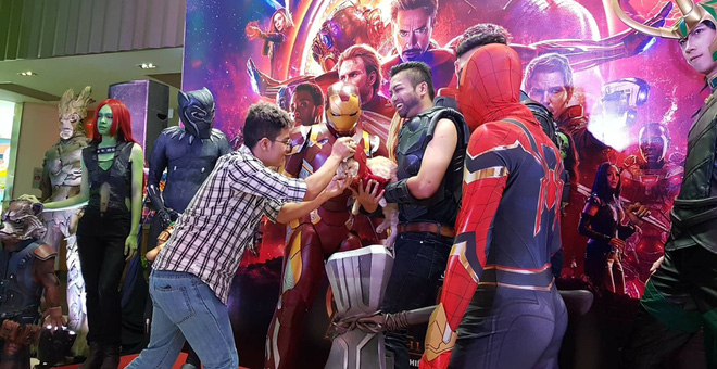 Khách mời đặc biệt gây sốt hơn cả sao Việt tại họp báo phim bom tấn Avengers - Ảnh 2.