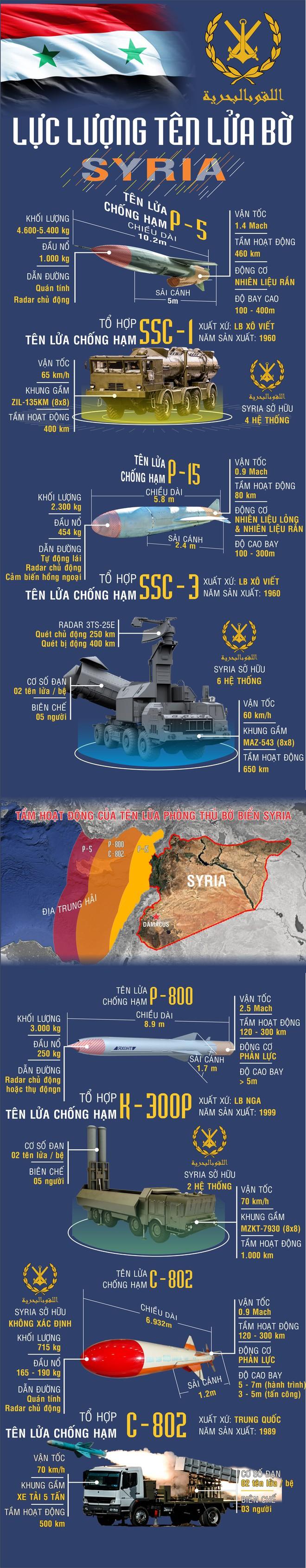 Nếu bị dồn ép đến đường cùng, Syria sẽ dùng những vũ khí này tấn công diệt tàu sân bay Mỹ? - Ảnh 2.
