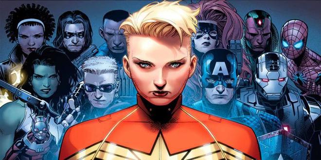 Captain Marvel: Người đang được săn lùng trong bom tấn Avengers - Infinity War là ai? - Ảnh 2.